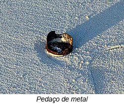pedaço de metal - 14° Diário de Bordo