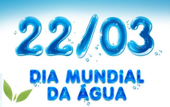 Data comemorativa do dia mundial da água