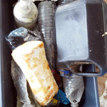 Lixo encontrado na REBIO Atol das Rocas