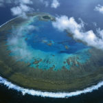 A grande barreira de recife da Austrália
