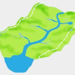 Bacia hidrográfica e seus relevos