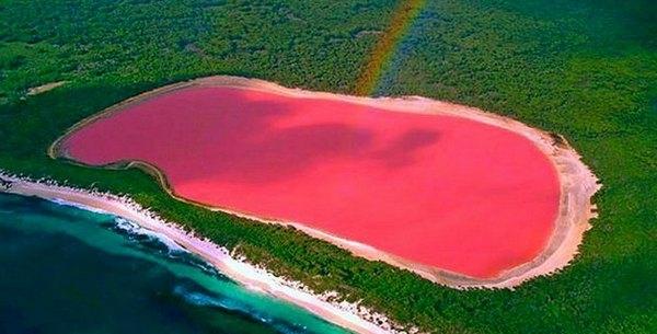 Lagos cor-de-rosa - Lago Retba