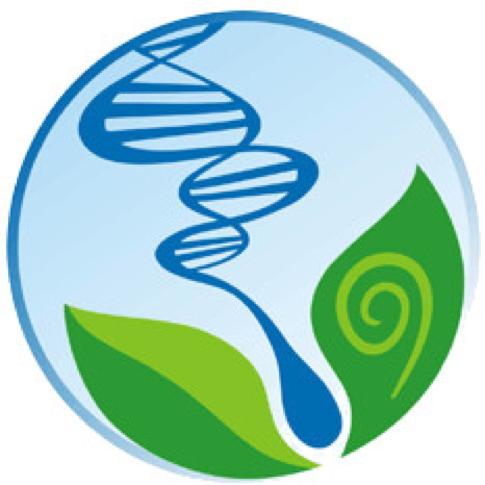 Nesse símbolo, podemos observar quatro elementos básicos- o DNA, o espermatozoide, as folhas e a espiral