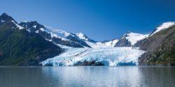 Geleira no Alasca