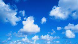 Nuvens no calor