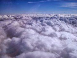 condensação nas nuvens - ciclo da água