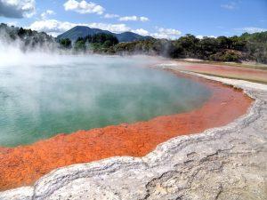 Lago colorido