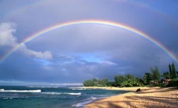 formação de arco-iris