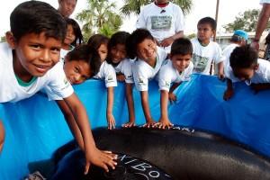 Educação ambiental. Foto: Anselmo D`affonseca.