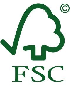 FSC - Forest Stewardship Council.