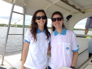 Novas pesquisadoras - Natália e Luciana