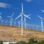 Energia eólica no campo