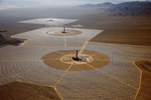 Maior usina de energia solar do mundo