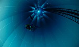 Profundidade de 33 metros