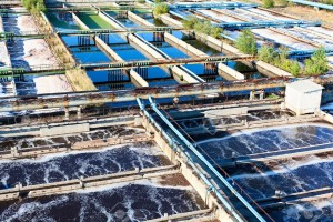Tratamento de água em indústria