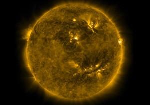 Sol e sua explosões