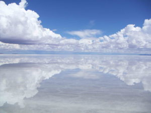 Salar de Uyuni na Bolivia
