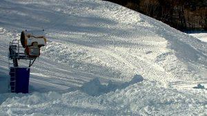 Motor que produz neve