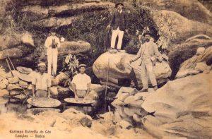 Foto Antiga do Garimpo Chapada Diamanetina