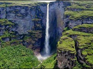Cachoeira no Parque da Chapada Diamantina
